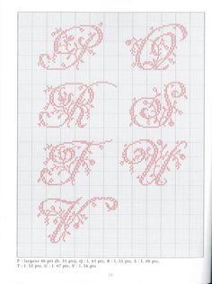 Gallery.ru / Фото #5 - Belles lettres au point de croix - logopedd