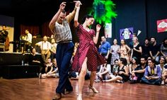 Socialize and learn dance styles from the 1920s and '30s with lessons in the Lindy Hop, Charleston, Balboa, Shag, and Authentic Jazz
