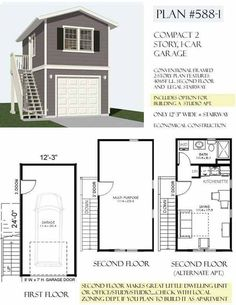 Garage Studio Apartment Plans garage conversion to annexe (garage to suite) | garage ideas
