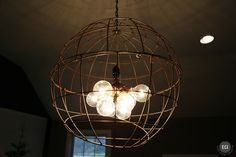 Refreshing Cool Light Fixtures On Furniture With Also Love How The Metal Orb Makes An Amazingly Cool Shadow On The