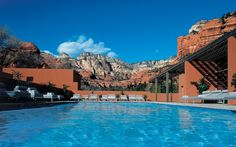 Enchantment Resort and Mii Amo Spa, Arizona     Lying among Arizona's spectacular Red Rock State Park, the Enchantment Resort offers panoramic mountain views and cave-like accommodation.   jane@worldtravelspecialists.biz