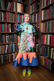 grayson perry dresses - Google Search Men Wearing Dresses, Grayson Perry, Print Design, Dressing, Summer Dresses, Female, How To Wear, Claire, Doll