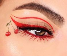 Image about style in Makeup Looks by ? on We Heart It - Creative Makeup 2020 Makeup Eye Looks, Eye Makeup Art, Crazy Makeup, Pretty Makeup, Eyeshadow Makeup, Eyeshadow Palette, Makeup Set, Makeup Style, Makeup Ideas
