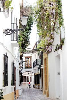 Streets of Marbella