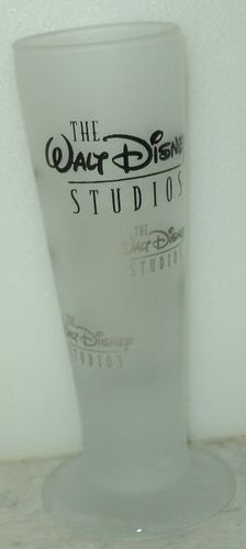 The Walt Disney Studios Tall Frosted Shot Glass Shooter - This Item is for sale at LB General Store http://stores.ebay.com/LB-General-Store ~Free Domestic Shipping ~