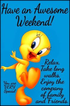 Have an awesome weekend!