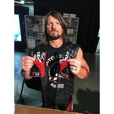 """1,269 Likes, 6 Comments - AJ Styles Ⓜ️ (@ajstylesvwwe) on Instagram: """"AJ Styles WORN & SIGNED Gloves (SmackDown - 08/15/17)"""""""