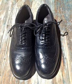 2879bd7e02d ROCKPORT WORKS DRESSPORTS WINGTIP OXFORD BLACK LEATHER STEEL TOE SHOES