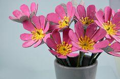 flores artesanais - Pesquisa Google