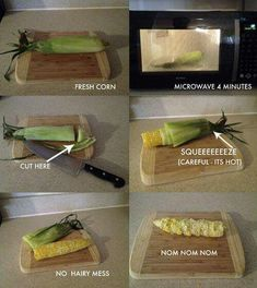 I'll have to try this...I love corn on the cob.