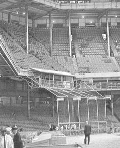 Shibe Park - history, photos and more of the Philadelphia Athletics and Phillies former ballpark Phillies Baseball, Baseball Park, Baseball Photos, Sports Baseball, Baseball Field, Phila Phillies, Soccer, Bay Sports, Sports Stadium