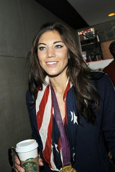 Hope Solo Visits the Today Show on August, 14, 2012. (PACIFIC COAST NEWS)