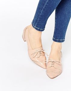 ASOS ON THE DOT Lace Up Heels