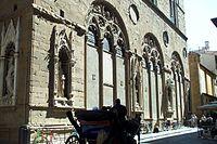 Niches des Corporations, façade de l'église d'Orsanmichele, 1404