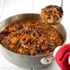 Easy Weeknight Bolognese Sauce - A Whole New Twist #Whole30 #Paleo #WheatBelly