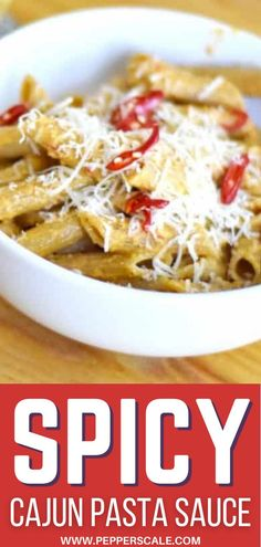 This is our favorite cajun pasta sauce. The cayenne is in our spicy cream sauce as simply a heat source. The Cajun seasoning is the true flavor. It's perfection! #spicy #cajun #cajuncreamsauce #creamsauce #spicycreamsauce #cajunseasoning Cajun Pasta Sauce, Cajun Cream Sauce, Cream Sauce Recipes, Cajun Seasoning, Spicy Vegetarian Recipes, Vegetarian Appetizers, Mexican Food Recipes, Pasta Dinner Recipes, Yummy Pasta Recipes