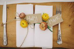 Holly and Mark's Cornish Farm Wedding. By Helen Lisk