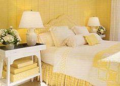 Yellow Bedroom Ideas