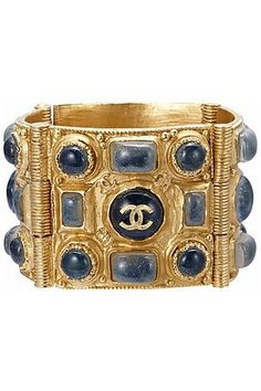 Chanel blue cuff