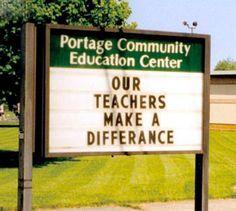 Our Teachers Make a Differance