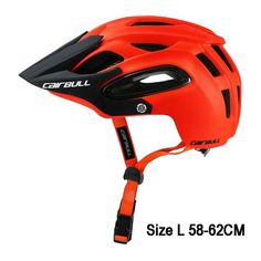 Bicycle Helmet All-terrain MTB Cycling Sports Safety Helmet Brand Name CAIRBULL Air Vents 16 - 20 Weight Approx (M Size Integrally-molded Helmet Product name: bicycle Helmet Color: 6 colors Material PC+EPS+insect mesh+visor. Bicycle Safety, Mtb Bicycle, Bicycle Helmet, Road Cycling, Cycling Bikes, Road Bike, Cycling Clothes, Cycling Shorts, Mtb Enduro