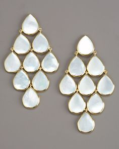 Ippolita Cascade Mother-of-Pearl Earrings.