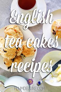 These English tea cakes recipes include a traditional fruit bun as well as a less traditional chocolate and cardamom combination. #englishteacakesoldfashioned #teacakesrecipesbritish #britishfood