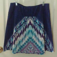 prAna Patterned Skirt Beautiful Patterned prAna Skirt. Size Medium. Soft Fabric. Great Condition! prAna Skirts Circle & Skater