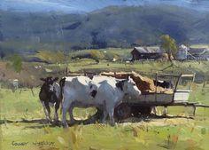 Colley Whisson - Kiewa Valley Cows, Australia