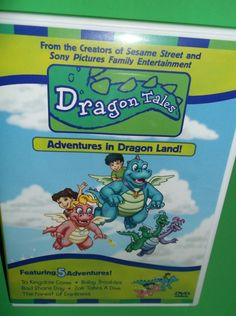 Dragon Tales - Adventures in Dragon Land! (DVD, 2000, Closed Captioned)