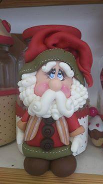 Pote de Papai Noel                                                                                                                                                                                 Mais
