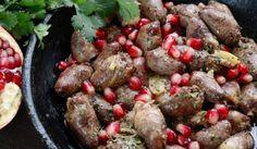 Рецепта за Грузинско кучмачи от пилешки сърчица