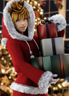 Kingdom Hearts - Look at my child Ven being all cute for Christmas Kingdom Hearts 3, Kingdom Hearts Wallpaper, The Legend Of Zelda, Christmas Kingdom, Christmas Eve, Holiday, Final Fantasy, Organization Xiii, Kh 3