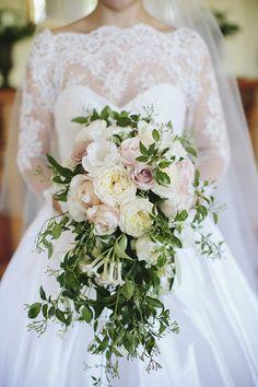 Featured photo: Merge Photography; Green wedding bouquet idea