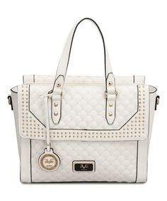 White Palazzo #Versace #Tote Reg $260 NOW $99.99! #Designer #purse #deal