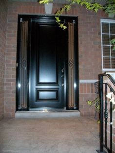 1000 images about fiberglass doors on pinterest - Steel vs fiberglass exterior door ...