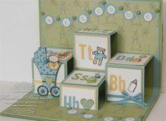 Baby Bundle pop-up card