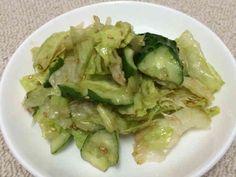 レタスときゅうりでお箸が止まらないサラダの画像