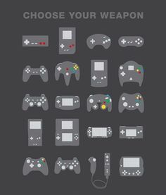 OH SNAP. Choose your video game controller.