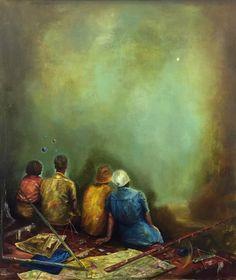 Christopher Orr The Phantom Sun 2015 Oil on Canvas 70x62 cm