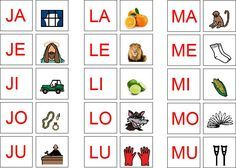 MODELO DO SILABÁRIO Literacy, Clip Art, Letters, Teaching, Activities, Writing, Gabriel, Tall Tales Activities, Preschool Literacy Activities