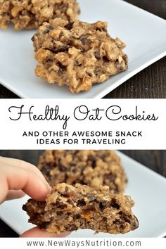Quick, healthy, approved snacks for traveling.