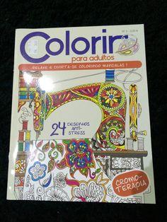 Colorir para adultos num 2 da Edigrama