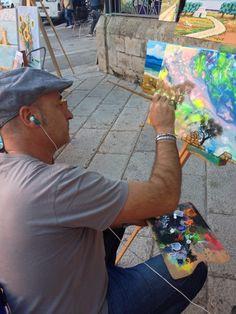 fabio maddalo Estemporanea di Pittura Lecce