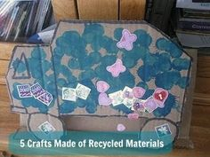 5 Crafts Made of Recycled Materials from JDaniel4's Mom