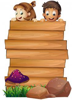 Molde de placa de madeira com menino e m. Boarder Designs, Page Borders Design, School Board Decoration, School Decorations, Kids Background, Flower Background Wallpaper, Art Drawings For Kids, Drawing For Kids, Fond Design