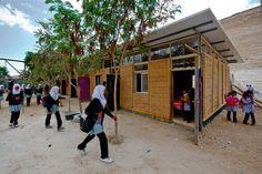 Wadi Abu Hindi School In The Desert - Picture gallery