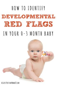 Tips from an early intervention therapist on how to identify developmental red flags in your month baby 3 Months Old Development, Baby Development, Development Milestones, 2 Month Old Milestones, Baby Milestones, Pediatric Physical Therapy, Occupational Therapist, 1 Month Old Baby, 1 Month Olds