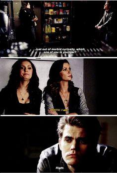 Vampire diaries Katherine and Nadia
