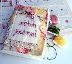 Yellow Stitch Journal personal embroidery stitch reference